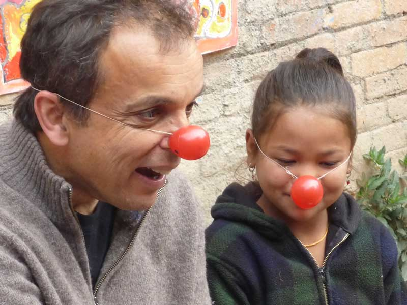 Red-nose-girl